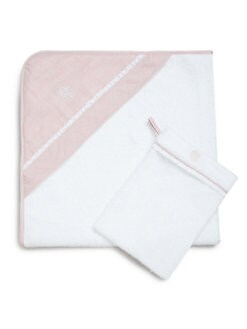 Ralph Lauren - Infant's Two-Piece Hooded Towel & Mitt Set