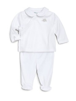 Ralph Lauren - Infant's Two-Piece Pima Cotton Top & Footed Pants Set