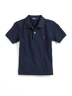 Ralph Lauren - Infant's Solid Mesh Knit Polo