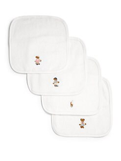 Ralph Lauren - Infant's Four-Piece Terry Wash Cloth Set