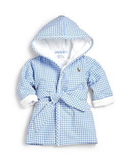 Ralph Lauren - Infant's Gingham Terry Bathrobe