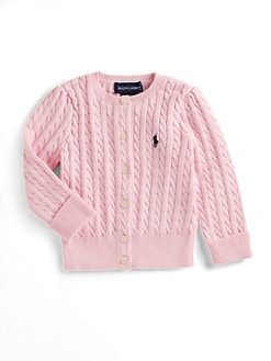 Ralph Lauren - Infant's Cabled Cardigan