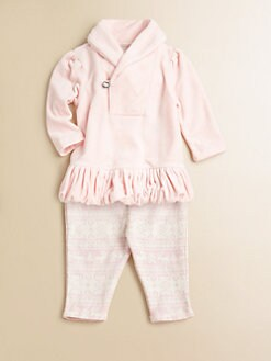 Ralph Lauren - Infant's Two-Piece Velour Tunic & Leggings Set