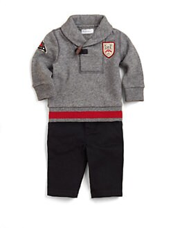 Ralph Lauren - Layette's Fleece Pullover & Sweatpants Set