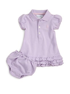 Ralph Lauren - Layette's Cupcake Dress & Bloomers Set