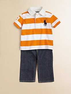 Ralph Lauren - Infant's Quilted Rugby Shirt