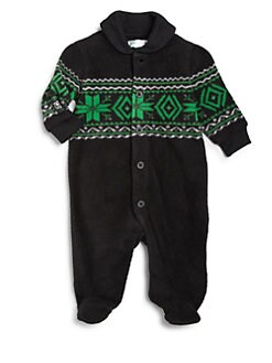 Ralph Lauren - Infant's Fair Isle Footie
