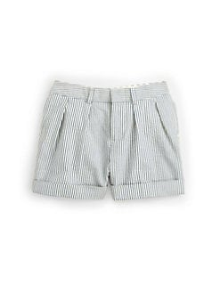 Ralph Lauren - Infant's Pleated Seersucker Shorts