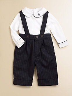 Ralph Lauren - Infant's Bodysuit & Overalls Set
