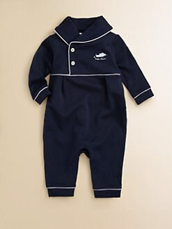 Ralph Lauren - Layette's Shawl Collar Coverall