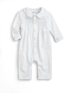 Ralph Lauren - Layette's Smocked Coverall