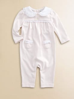 Ralph Lauren - Layette's Pima Cotton Coverall