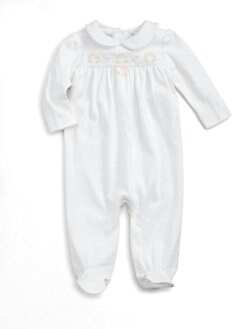 Ralph Lauren - Layette's Embroidered Coverall