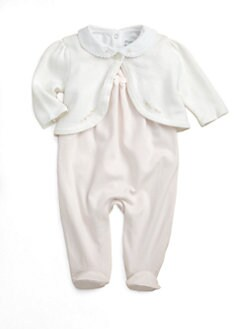 Ralph Lauren - Layette's Three-Piece Jumpsuit, Bodysuit & Sweater Set
