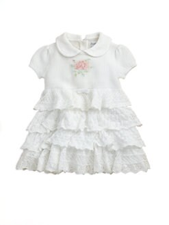 Ralph Lauren - Layette's Ruffled Dress