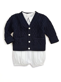 Ralph Lauren - Layette's Cable-Knit Cardigan