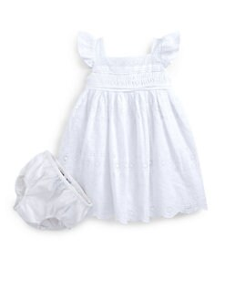 Ralph Lauren - Infant's Eyelet Dress & Bloomers Set