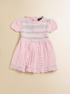 Ralph Lauren - Infant's Sweet Fair Isle Dress & Bloomers Set