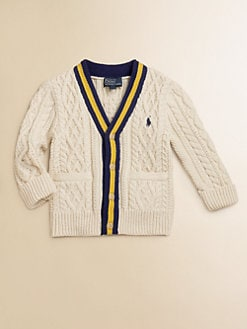 Ralph Lauren - Infant's Cable-Knit Cardigan