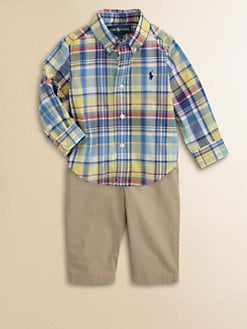 Ralph Lauren - Infant's Plaid Blake Shirt