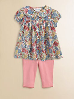 Ralph Lauren - Layette's Floral Tunic & Leggings Set