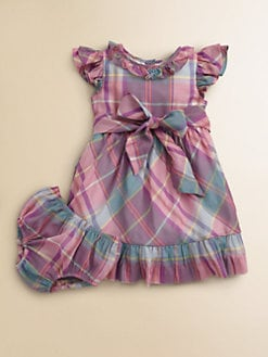 Ralph Lauren - Infant's Sateen Dress & Bloomers Set