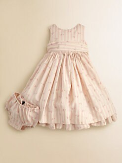 Ralph Lauren - Infant's Rosebud Dress & Bloomers Set