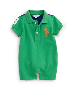 Ralph Lauren - Infant's Colorblock Shortall