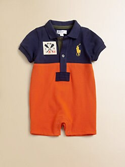 Ralph Lauren - Layette's Colorblock Shortall