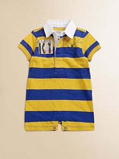 Ralph Lauren - Layette's Rugby Striped Shortall