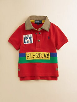 Ralph Lauren - Infant Boy's Mesh Polo Shirt