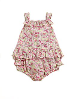 Ralph Lauren - Layette's Floral Sun Tank & Bloomers Set