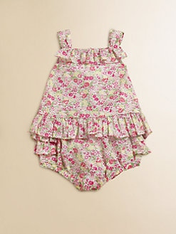 Ralph Lauren - Infant's Floral Sun Tank & Bloomers Set