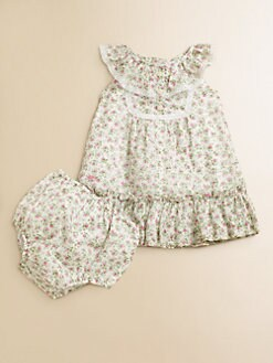 Ralph Lauren - Infant's Floral Bib Dress