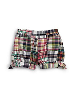 Ralph Lauren - Infant's Patchwork Madras Shorts