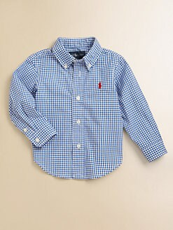 Ralph Lauren - Infant's Gingham Blake Shirt