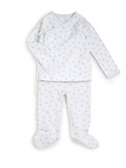 Ralph Lauren - Layette's Kimono Top & Pants Set