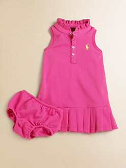 Ralph Lauren - Infant's Polo Dress & Bloomers Set