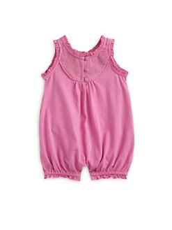 Ralph Lauren - Infant's Embroidered Bubble Shortall