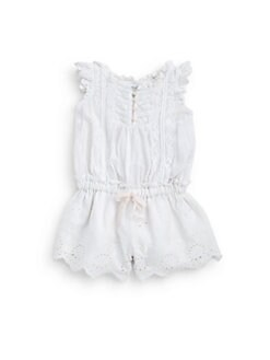 Ralph Lauren - Infant's Eyelet Romper