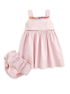 Ralph Lauren - Infant's Oxford Sundress & Bloomers Set