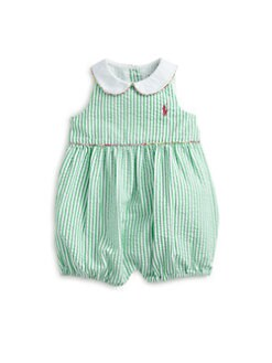 Ralph Lauren - Infant's Seersucker Romper