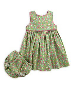Ralph Lauren - Infant's Floral Dress & Bloomers Set