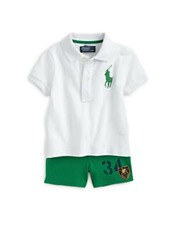 Ralph Lauren - Infant's Two-Piece Polo Shirt & Shorts Set