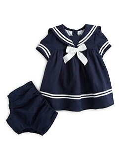 Ralph Lauren - Infant's Sailor Dress & Bloomers Set