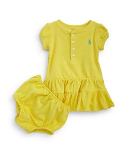Ralph Lauren - Infant's Ruffled Henley Dress