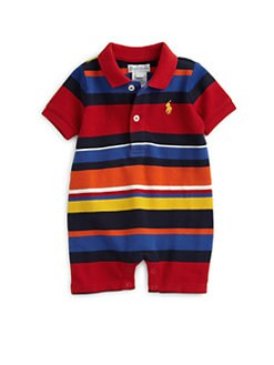 Ralph Lauren - Infant's Striped Polo Shortall