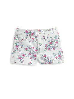 Ralph Lauren - Infant's Floral Denim Shorts