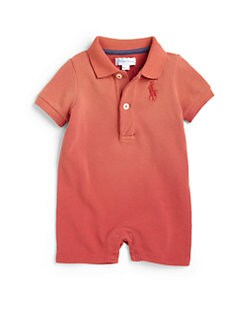 Ralph Lauren - Infant's Mesh Polo Shortall