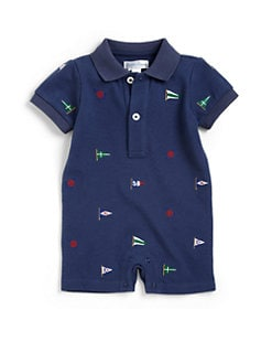 Ralph Lauren - Infant's Schiffli Nautical Shortall